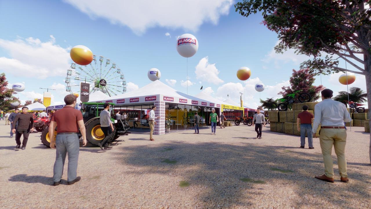 Aberta a comercialização de estandes para a feira de negócios da Vaquejada do Milhão